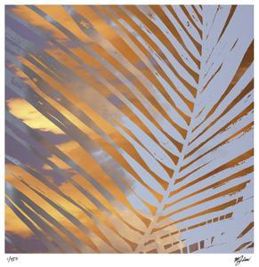 Sunset Palms II by Mj Lew