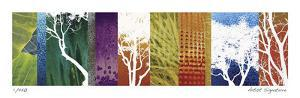 Trees of the Sierra II by Mj Lew