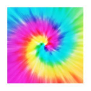 Tie-Dye Spiral by MJ Photo - Tacoma