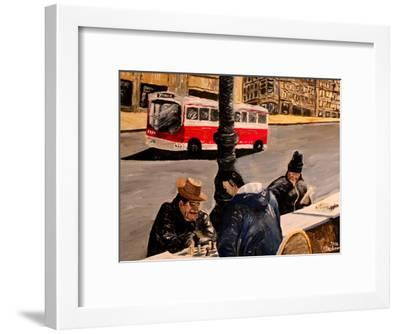 Mkt Street-M Bleichner-Framed Art Print