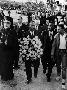 MLK Leads March for Slain Unitarian Minister 1965
