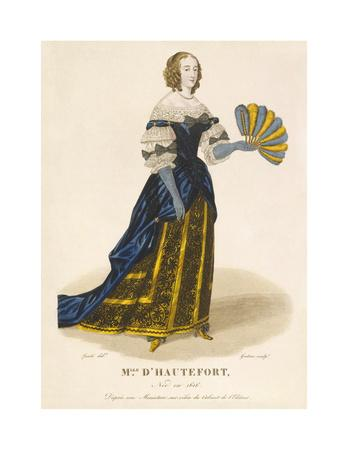 Mlle d' Hautefort-Louis-Marie Lante-Premium Giclee Print