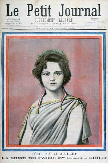 Mlle Ernestine Curot, 1898-Henri Meyer-Giclee Print