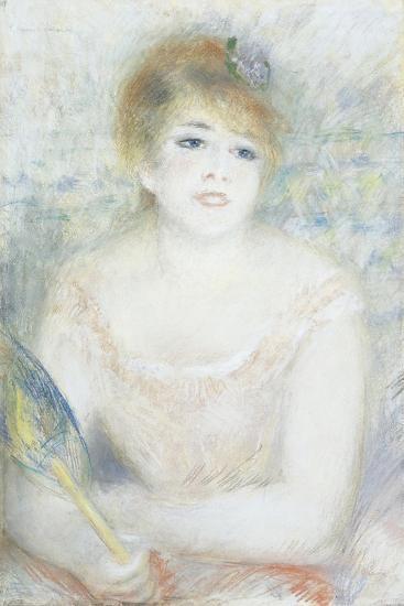 Mlle. Jeanne Samary, C.1878-Pierre-Auguste Renoir-Giclee Print