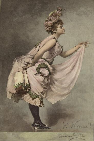 Mlle Nitouche-Clemens von Pausinger-Giclee Print