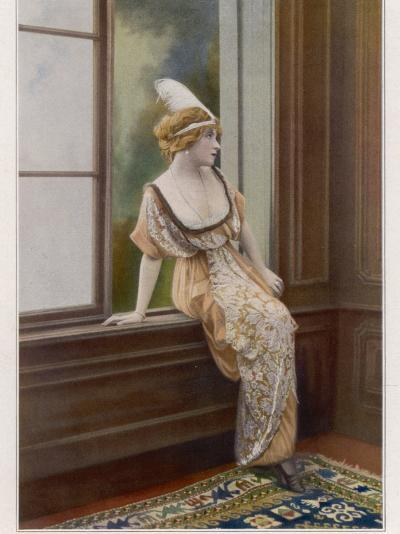 Mlle Yane's Gown 1913--Photographic Print