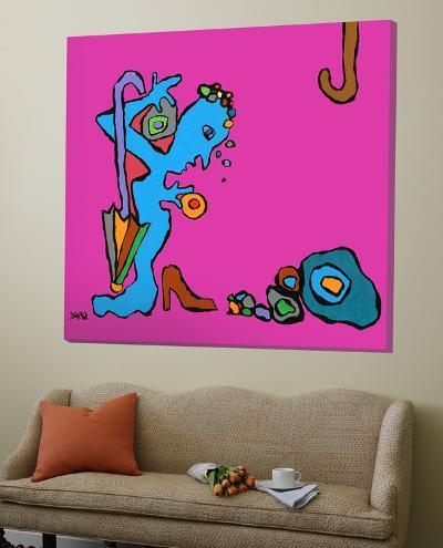 Mme a les Blues-Yaro-Loft Art