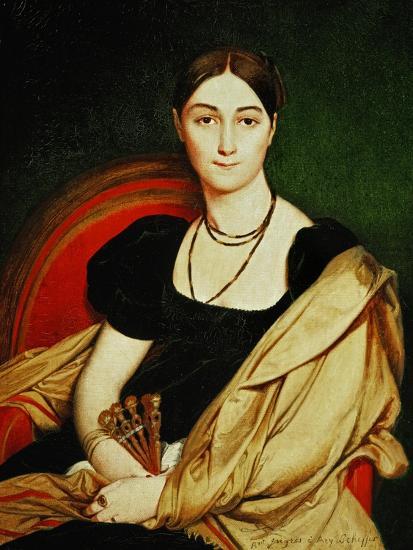 Mme. Antonia De Vaucay, 1807-Jean-Auguste-Dominique Ingres-Giclee Print