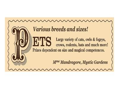 Mme. Mandragore, Mystic Gardens--Art Print