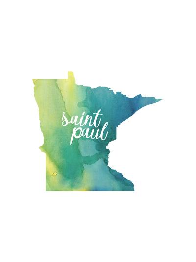 MN Saint Paul-Paperfinch-Art Print