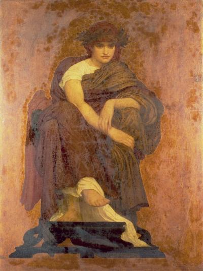 Mnemosyne, the Mother of the Muses-Frederick Leighton-Giclee Print