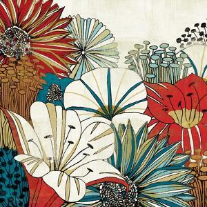 Contemporary Garden I by Mo Mullan