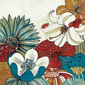Contemporary Garden II by Mo Mullan