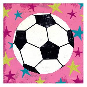 Girls Sports IV by Mo Mullan