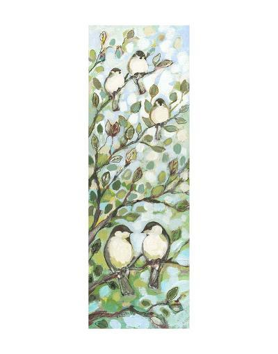 Mo's Chickadees-Jennifer Lommers-Art Print