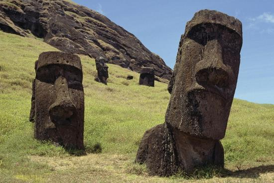 Moai--Giclee Print