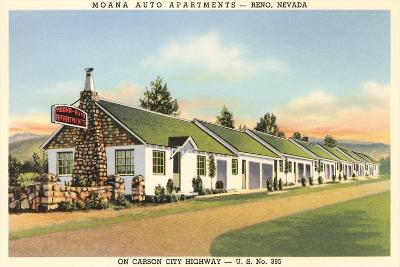 Moana Auto Apartments, Reno, Nevada--Art Print