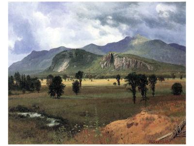 Moat Mountain, New Hampshire-Albert Bierstadt-Premium Giclee Print