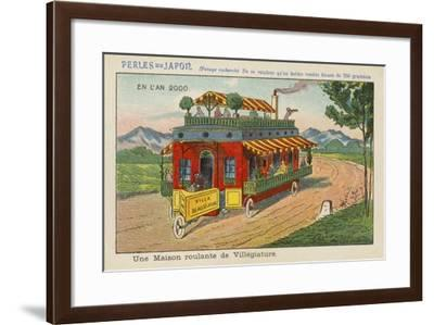 Mobile Holiday Resort in the Year 2000--Framed Giclee Print