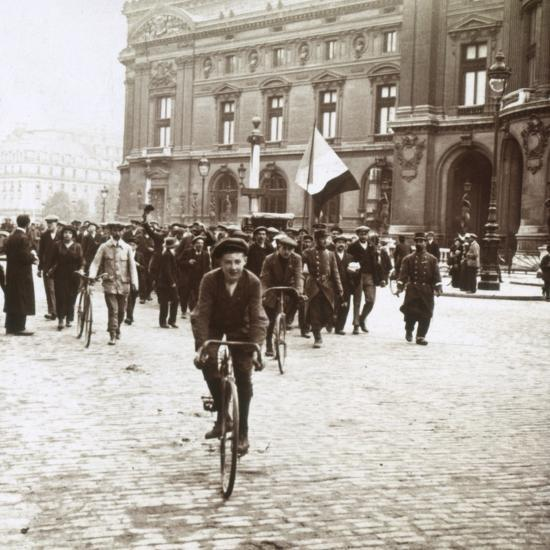 Mobilisation of soldiers from Alsace-Lorraine, c1914-c1918-Unknown-Photographic Print