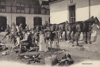 Mobilisation, World War I--Photographic Print