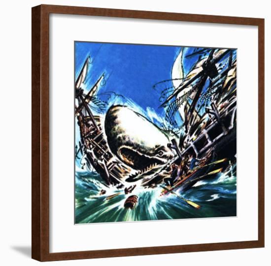 Moby Dick's Revenge-Wilf Hardy-Framed Giclee Print