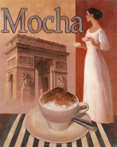 Mocha, Arch de Triomphe-T^ C^ Chiu-Art Print