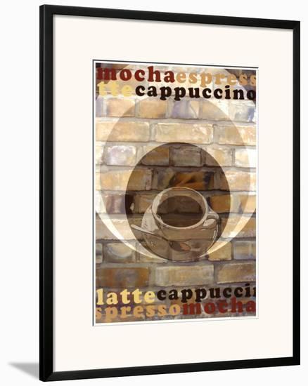 Mocha Espresso-Kelvie Fincham-Framed Art Print
