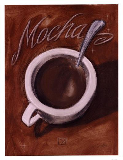 Mocha-Darrin Hoover-Art Print