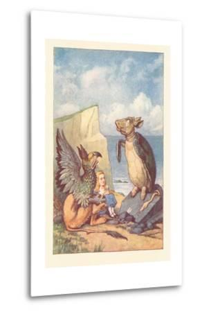 Mock Turtle, Gryphon and Alice
