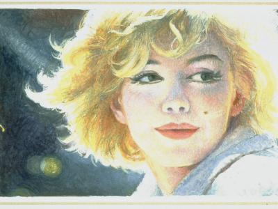 Mock-Up of Possible Stamp Honoring Actress Marilyn Monroe--Premium Photographic Print