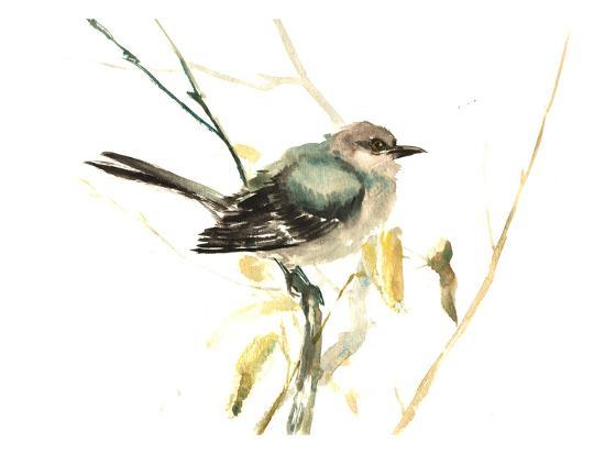 Mockingbird-Suren Nersisyan-Art Print