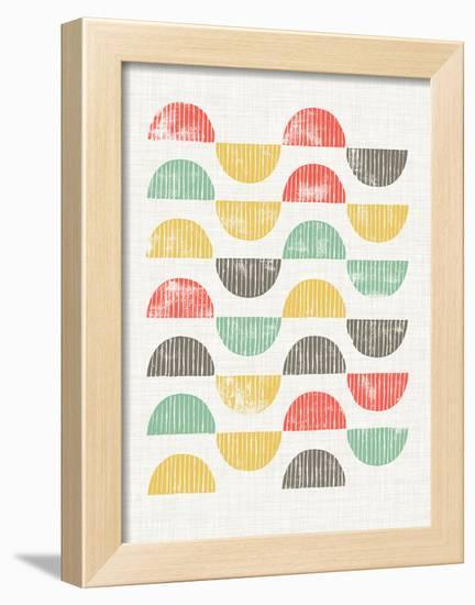 Mod Block Prints I-Grace Popp-Framed Art Print