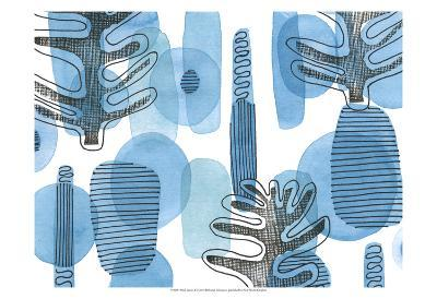 Mod Leaves I-Deborah Velasquez-Art Print