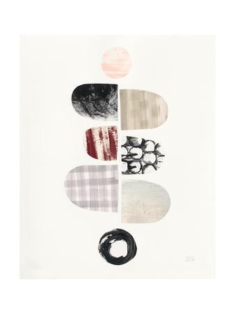 Mod Neutrals I Blush-Melissa Averinos-Art Print