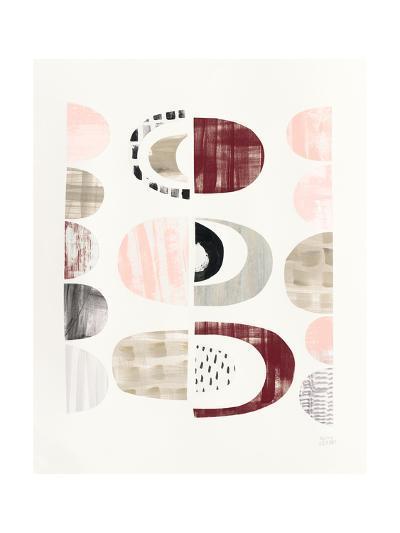 Mod Neutrals II Blush-Melissa Averinos-Art Print