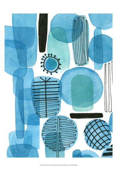 Mod Orbit I-Deborah Velasquez-Art Print