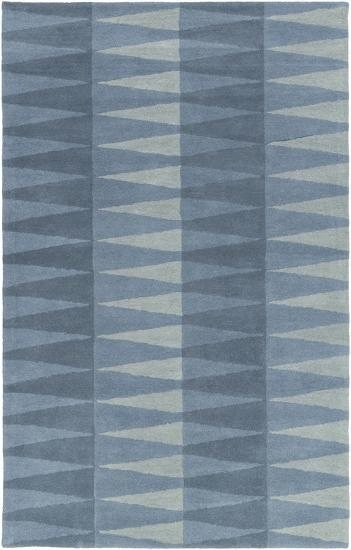 Mod Pop Accordion Blue Area Rug by Bobby Berk - 4' x 6'--Home Accessories
