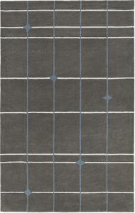 Mod Pop Dark Grey Area Rug by Bobby Berk - 2' x 3'