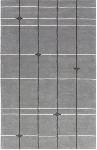 Mod Pop Light Grey Area Rug by Bobby Berk - 2' x 3'