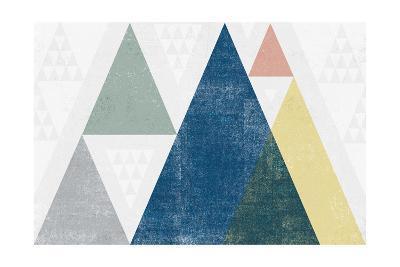 Mod Triangles I Soft-Michael Mullan-Art Print
