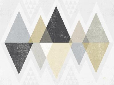 Mod Triangles II Archroma-Michael Mullan-Art Print