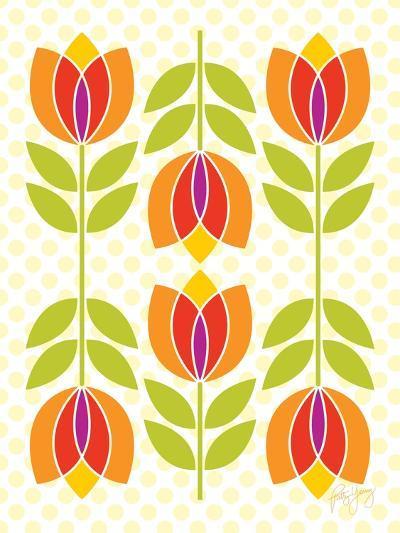 Mod Tulips I-Patty Young-Art Print
