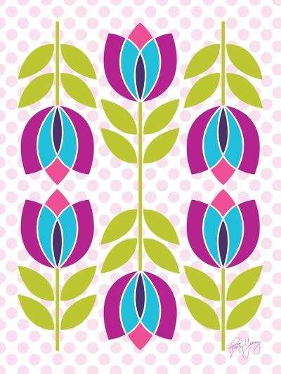 Mod Tulips III-Patty Young-Art Print