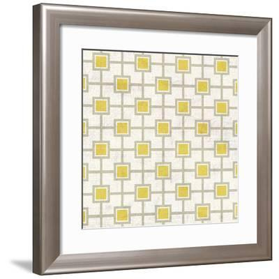 Mod Yellow 4-Suzanne Nicoll-Framed Giclee Print