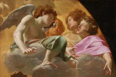 Model for Altarpiece in St. Peter's, 1625-Simon Vouet-Giclee Print