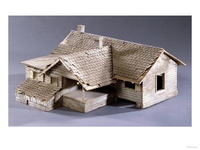 Model for Dorothy's Farmhouse in Kansas for the Film 'The Wizard of Oz', 1939--Giclee Print