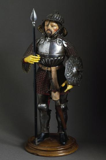 Model for Knight's Full Armor, England--Giclee Print