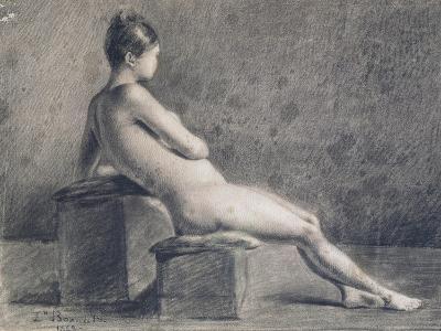 Model in Profile, C1853-1922-Leon Joseph Florentin Bonnat-Giclee Print