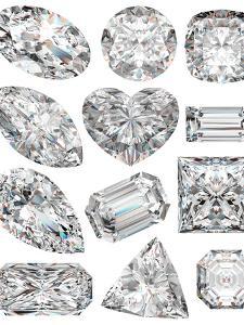 Diamond Shapes by Model-la